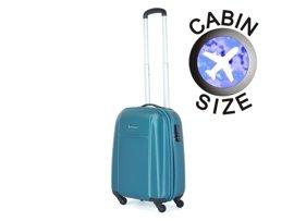 Mała walizka PUCCINI ABS02 Lizbona turkusowa