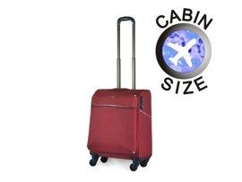Mała walizka PUCCINI EM-50380 C czerwona