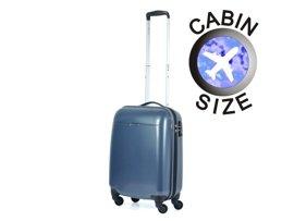 Mała walizka PUCCINI PC005 C ciemnoniebieska