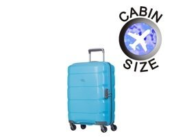 Mała walizka PUCCINI PP008 C błękitna